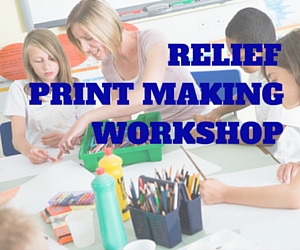 Relief Print Making Workshop by Confluent Space Tri-Cities: Nourishing Creativity and Inventiveness in Children in Richland, WA