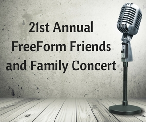 21st Annual FreeForm Friends and Family Concert: Jazz Extravaganza at the CBC Theatre | Pasco, WA