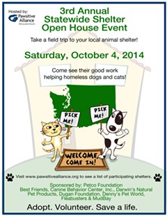 3rd Annual Statewide Shelter Open House