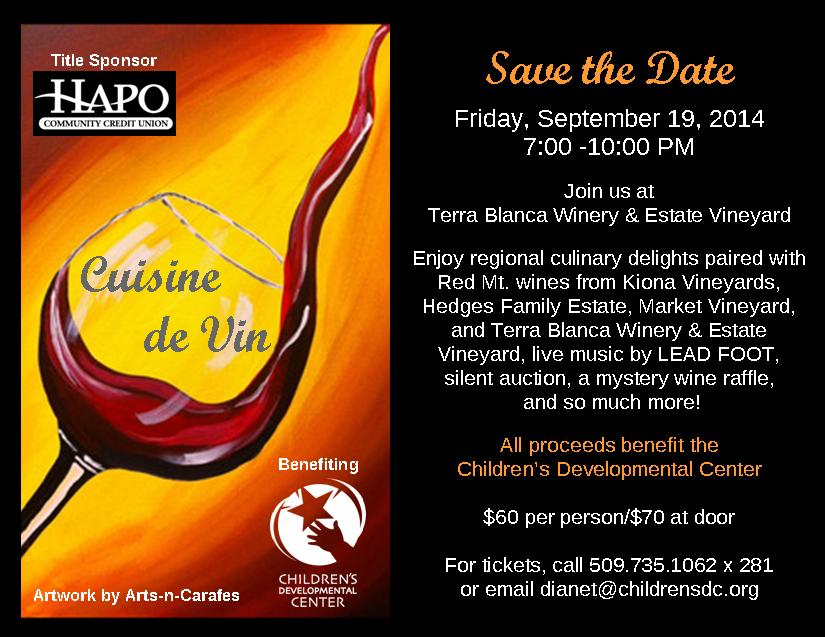 7th Annual Cuisine de Vin At Terra Blanca Winery, Benton City