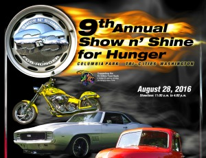 9th Annual Show N' Shine for Hunger Hosted by the Mid-Columbia Chapter of Mopars Unlimited Car Club | Kennewick