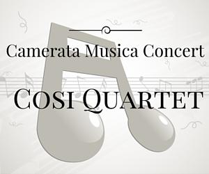 Cosi Quartet in Camerata Musica Concert | Richland, WA