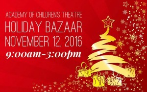 Holiday Bazaar 2016 Hosted by the Academy of Children's Theatre | Gratify Your Early Christmas Shopping Desire in Richland WA