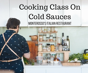 Cooking Class On Cold Sauces with Chef Adam Carr: Be Your Family's Executive Chef | Richland, WA