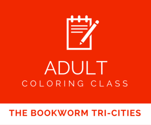 Adult Coloring Class At The Bookworm Tri-Cities In Kennewick, Washington