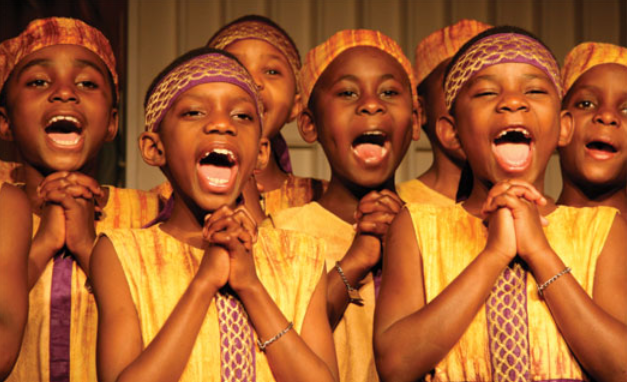 African Children's Choir Concert Kennewick High School Auditorium