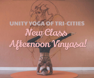 Unity Yoga of Tri-Cities Presents New Class: Afternoon Vinyasa - Start the New Year with Healthy Practices | Richland, WA