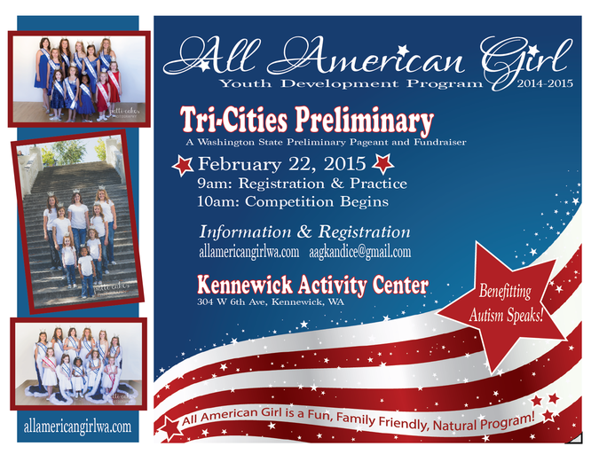 All American Girl - Tri-Cities Preliminary Pageant Kennewick, Washington