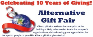 Alternative Gift Fair: A Celebration of 10 Years of Giving | Reflecting the True Meaning of Holidays By Sending Donations | Pasco WA