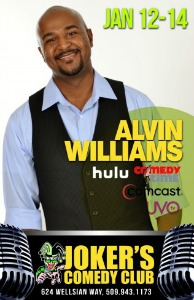 Jokers Comedy Club Featuring 'The Alvin Williams Comedy Show' | Discover Something to Laugh About Serious Matters in Richland, WA
