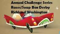 Annual Challenge Series Races/Soap Box Derby In Richland Washington