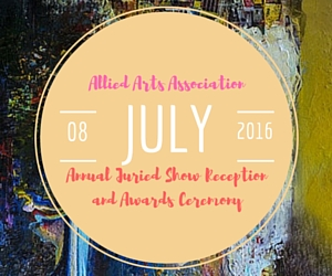 Allied Arts Association's Annual Juried Show Reception and Awards Ceremony: Recognizing Artists with Exceptional Talent | Richland, WA
