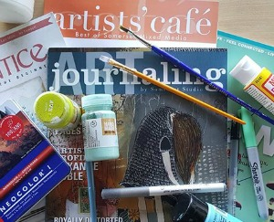 Art Journaling: Conquering Creative Block at Confluent Space Tri-Cities | Richland, WA