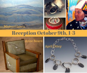 The Gallery at the Park Presents Three Northwestern Artists: Michael Lewis, Anne Beard and April Ottey | Richland, WA