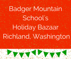 Badger Mountain School's Holiday Bazaar In Richland, Washington