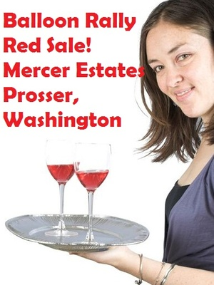 Balloon Rally Red Sale! Mercer Estates In Prosser, Washington