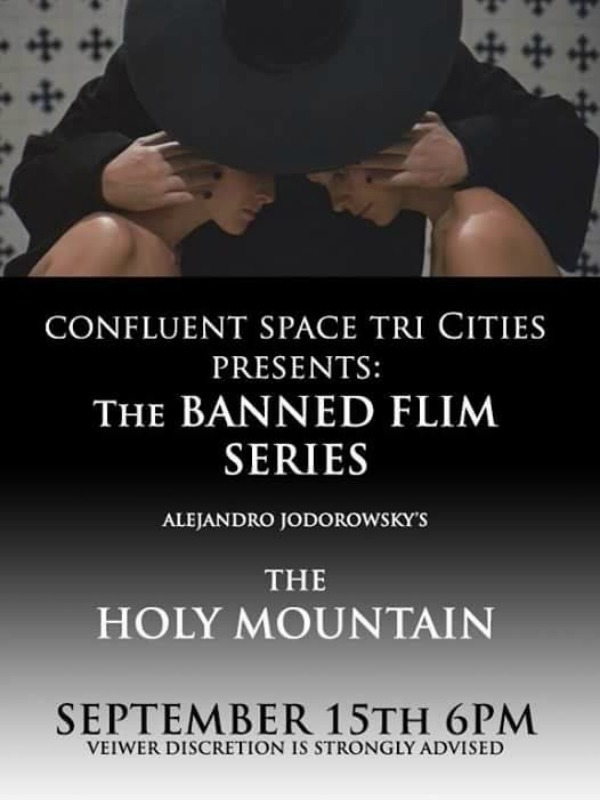 Banned Film Series: 'The Holy Mountain' at Confluent Space Tri-Cities in Richland, WA