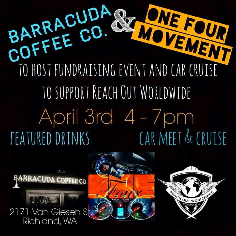 Reach Out Fundraiser And Car Meet & Cruise In Richland, Washington