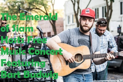 The Emerald Siam Hosts Free Music Concert Featuring Bart Budwig Richland, Washington