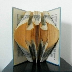 Mid-Columbia Libraries Presents Batman Book Folding: Something Extraordinary One Can Do With the Pages of a Book | West Richland, WA