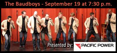 The Baudboys At The Gesa Power House Theatre Walla Walla, Washington