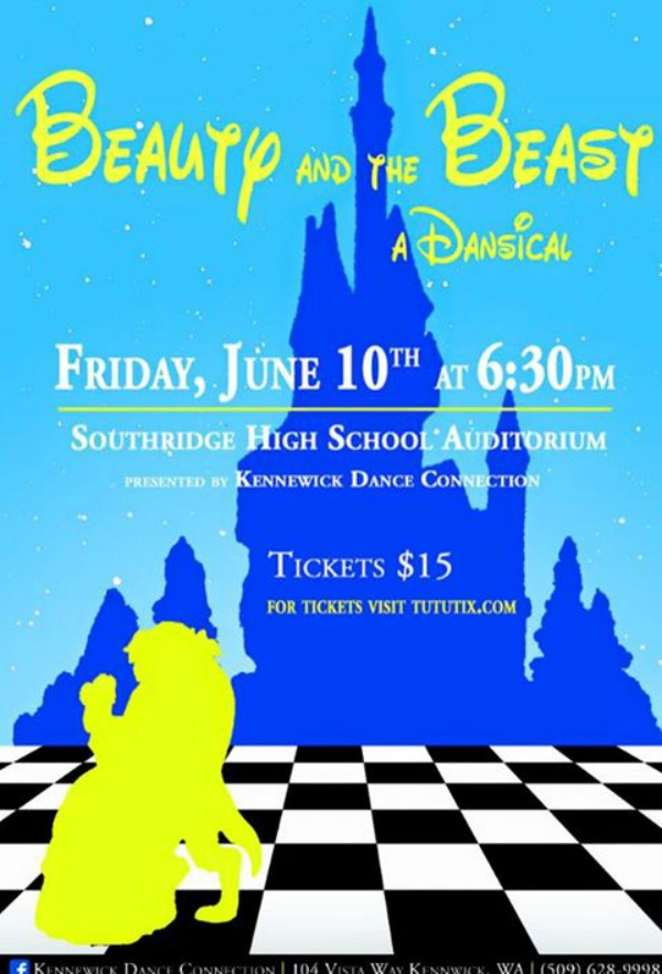 Beauty and the Beast, A Dansical Presented by Kennewick Dance Connection | Southridge High School Auditorium in Kennewick