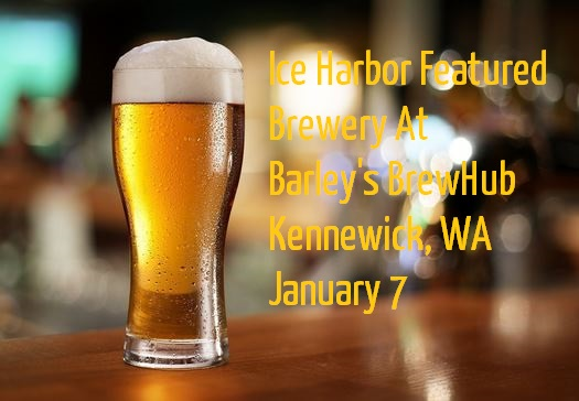 Ice Harbor Featured Brewery At Barley's BrewHub Kennewick, Washington