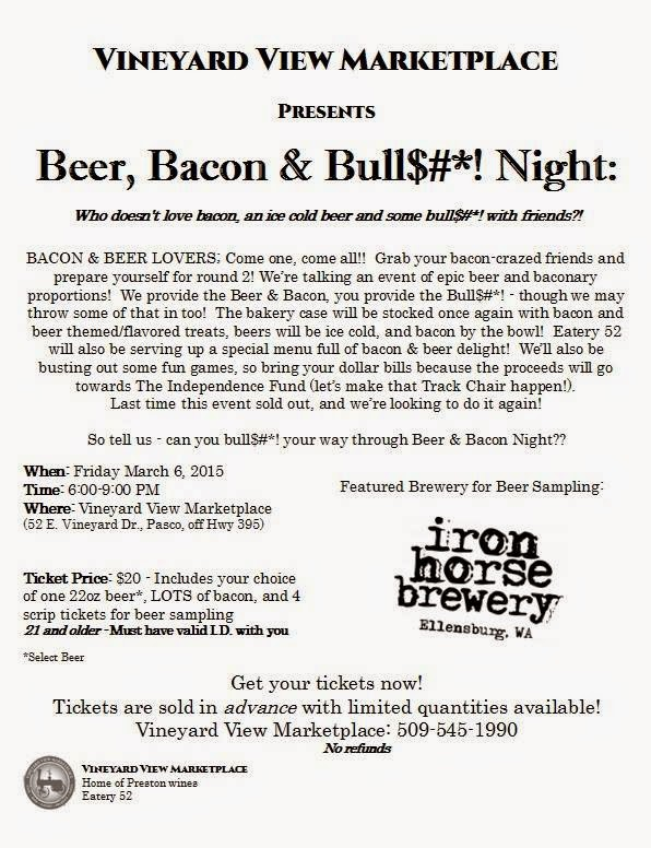 Beer, Bacon And Bull Bull$#*! Night - Round 2! Pasco, Washington