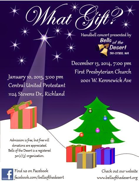 Bells Of The Desert Annual Christmas Concert Kennewick, Washington