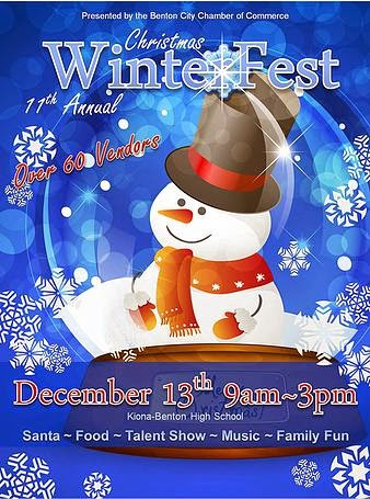 Annual Winterfest And Lighted Parade At Benton City, Washington
