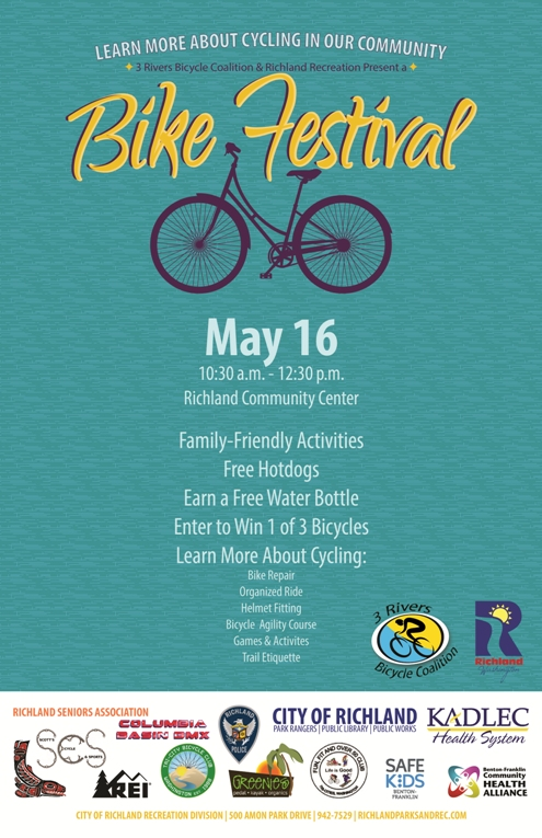 Bike Festival At The Richland Community Center Richland, Washington