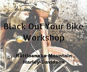 Black Out Your Bike Workshop: Learn How   to Make Your Bike Look Lean and Mean | Kennewick