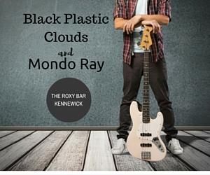 Performers 'Black Plastic Clouds' and 'Mondo Ray' Take The Roxy Bar's Center Stage in Kennewick, WA