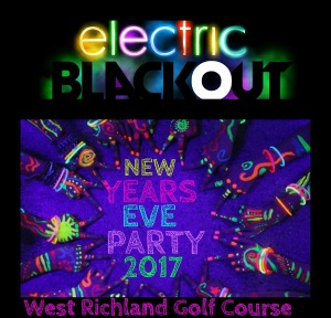 New Year's Eve Neon Vib Party: A Colorful Year-End Blast at West Richland Golf Course