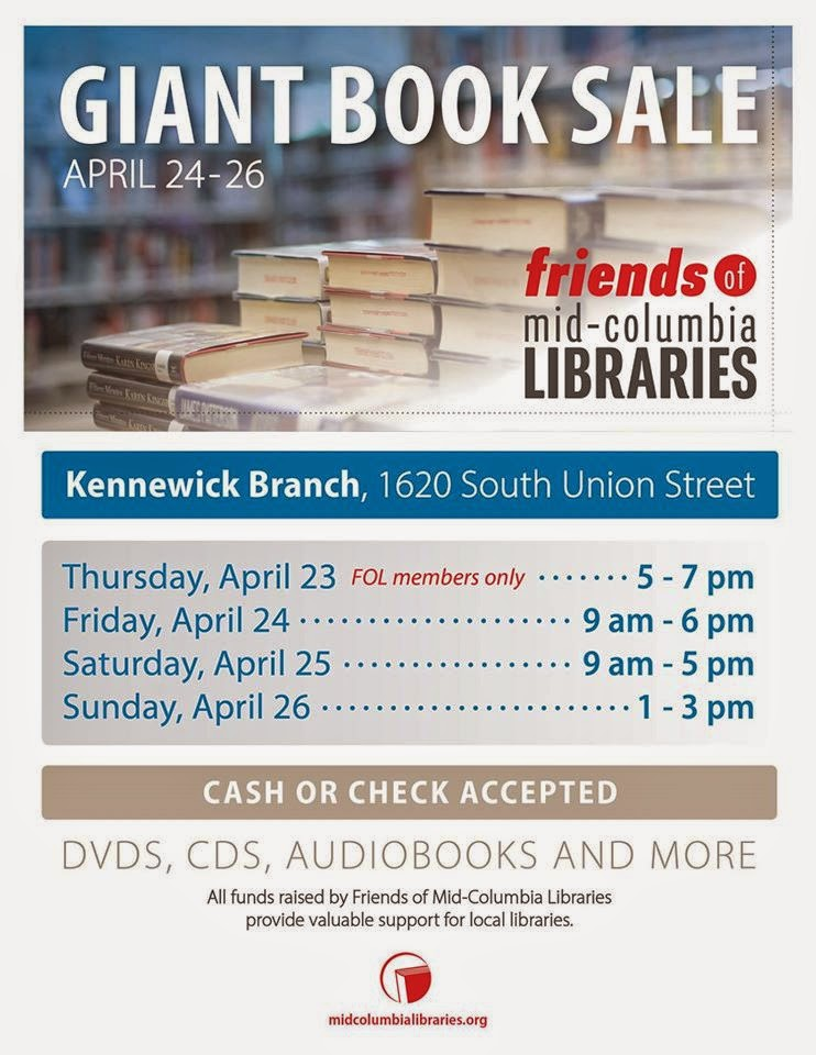 Friends Of The Mid-Columbia Libraries Giant Book Sale Kennewick, Washington