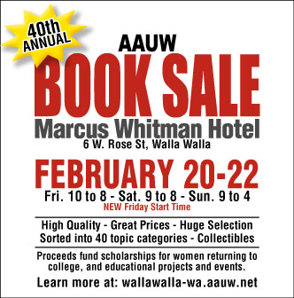 40th Annual AAUW Book Sale In Walla Walla, Washington