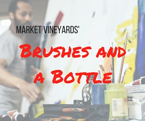 Market Vineyards' Brushes and a Bottle | Richland, WA