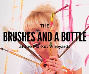 Brushes and A Bottle at the Market Vineyards: Indulge in Flavorful Wine As You Flash Your Artistic Side | Richland, WA