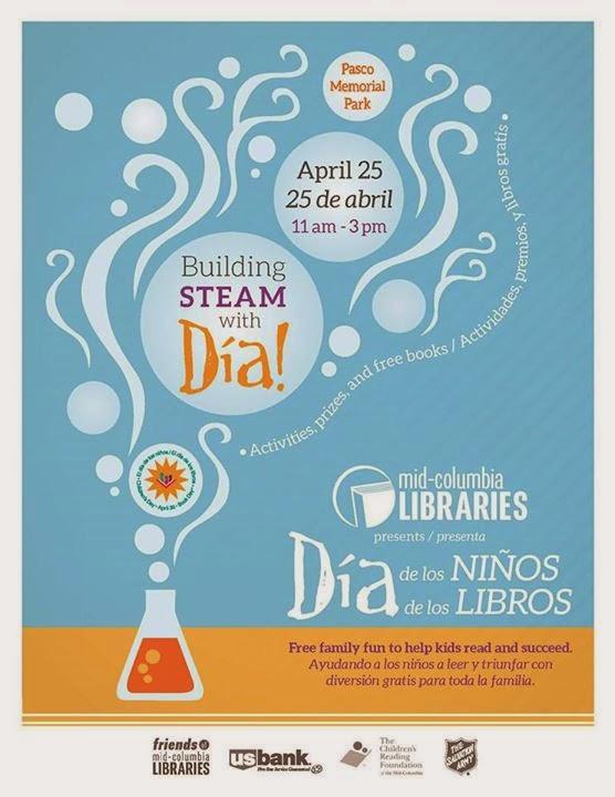 Día de los Niños/Día de los Libros (Children's Day/Book Day) Pasco, Washington