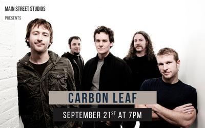 Carbon Leaf At The Main Street Studio In Walla Walla, Washington