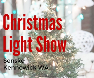Senske's Christmas Light Show | Kennewick, WA