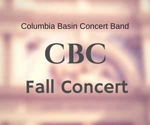 CBC Fall Concert at the Columbia Basin College Theatre