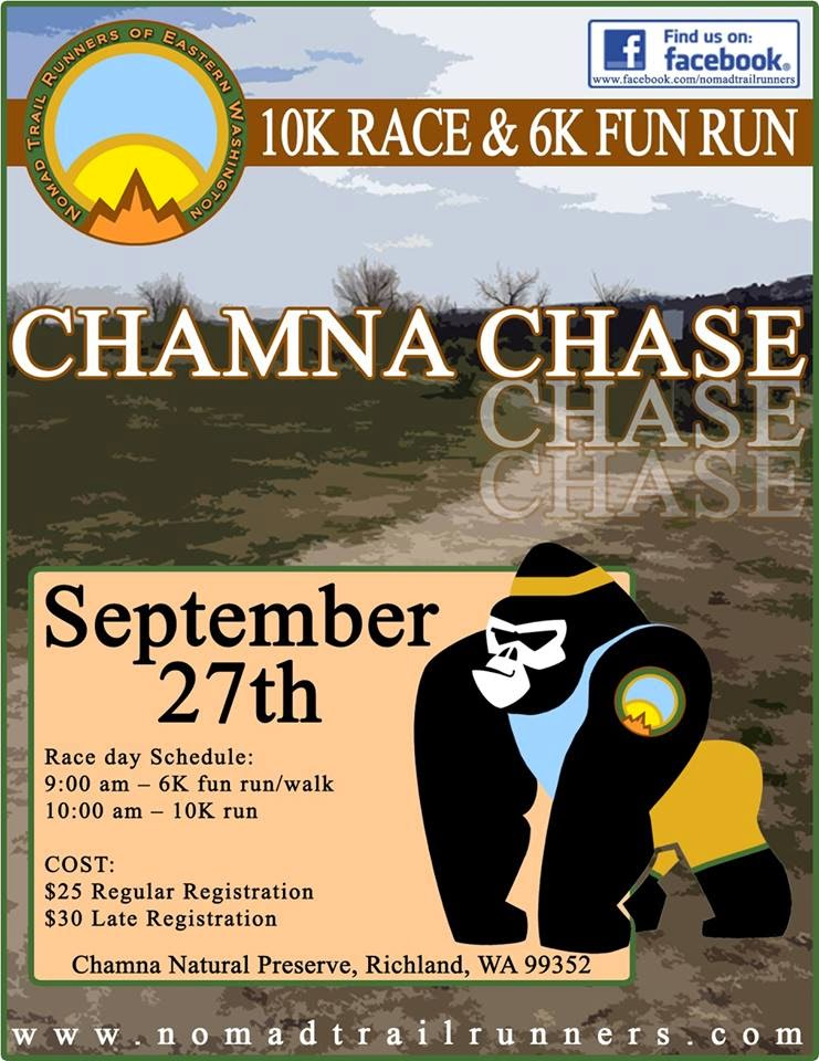 Chamna Chase 10k & 6k Fun Run, Chamna Preserve Richland, Washington