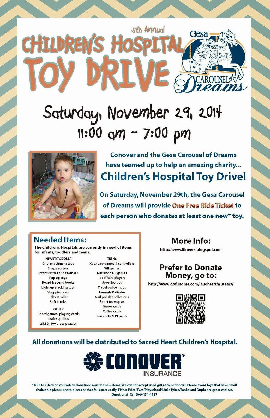 Children's Hospital Toy Drive Collection At The Carousel Of Dreams Kennewick, Washington