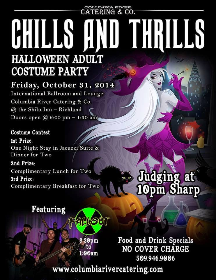 Chills And Thrills Halloween Adult Costume Party In Richland, Washington