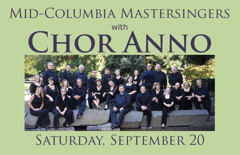 Chor Anno Choral Concert At St. Joseph's Church Kennewick, Washington