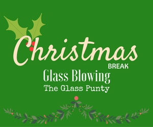 Christmas Break Glass Blowing: Holiday Ornaments and Gifts Creation at The Glass Punty in Richland, WA