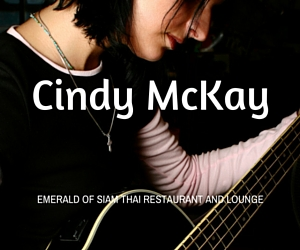 Cindy McKay at The Emerald of Siam: Songs from an Angel, Euphony in Heaven | Richland, WA