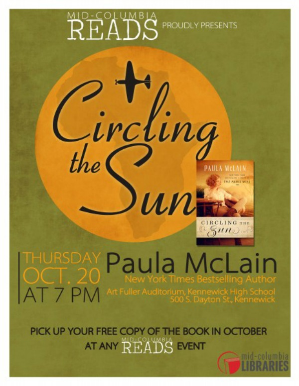Paula McLain's 'Circling the Sun' - A Mid-Columbia Reads Presentation in Kennewick