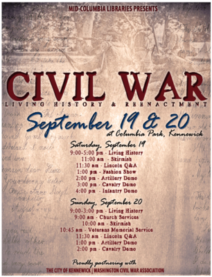 Civil War Living History & Reenactment In Kennewick, Washington